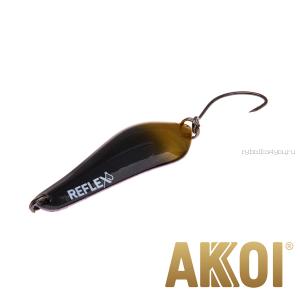 Колеблющаяся блесна Akkoi Reflex Crystal 4 см / 3,6 гр / цвет:  R39