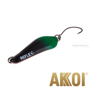 Колеблющаяся блесна Akkoi Reflex Crystal 4 см / 3,6 гр / цвет:  R40