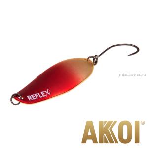 Колеблющаяся блесна Akkoi Reflex Element 4,2 см / 4,8 гр / цвет:  R01