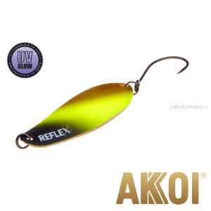 Колеблющаяся блесна Akkoi Reflex Element 4,2 см / 4,8 гр / цвет:  R02 UV