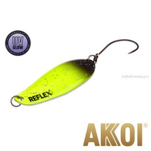 Колеблющаяся блесна Akkoi Reflex Element 4,2 см / 4,8 гр / цвет:  R03 UV