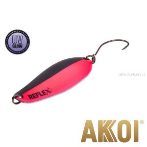 Колеблющаяся блесна Akkoi Reflex Element 4,2 см / 4,8 гр / цвет:  R08 UV