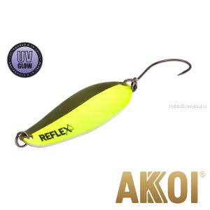Колеблющаяся блесна Akkoi Reflex Element 4,2 см / 4,8 гр / цвет:  R10 UV