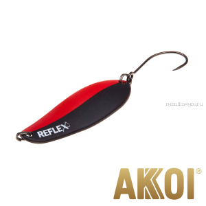 Колеблющаяся блесна Akkoi Reflex Element 4,2 см / 4,8 гр / цвет:  R12