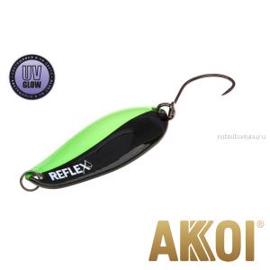 Колеблющаяся блесна Akkoi Reflex Element 4,2 см / 4,8 гр / цвет:  R14 UV