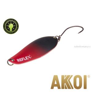 Колеблющаяся блесна Akkoi Reflex Element 4,2 см / 4,8 гр / цвет:  R21  светонакопитель
