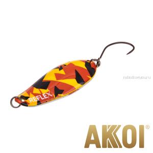 Колеблющаяся блесна Akkoi Reflex Element 4,2 см / 4,8 гр / цвет:  R25