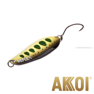 Колеблющаяся блесна Akkoi Reflex Element 4,2 см / 4,8 гр / цвет:  R30