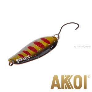 Колеблющаяся блесна Akkoi Reflex Element 4,2 см / 4,8 гр / цвет:  R31