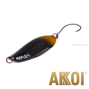 Колеблющаяся блесна Akkoi Reflex Element 4,2 см / 4,8 гр / цвет:  R39
