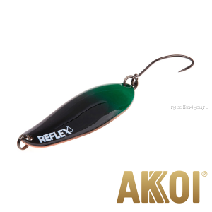 Колеблющаяся блесна Akkoi Reflex Element 4,2 см / 4,8 гр / цвет:  R40