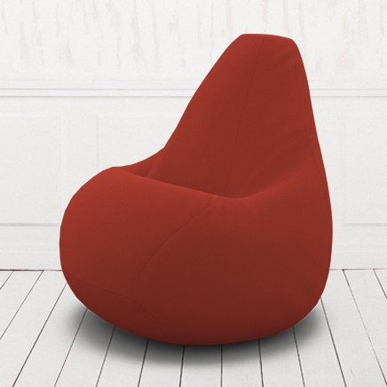 Кресло-груша Кент  10 красный