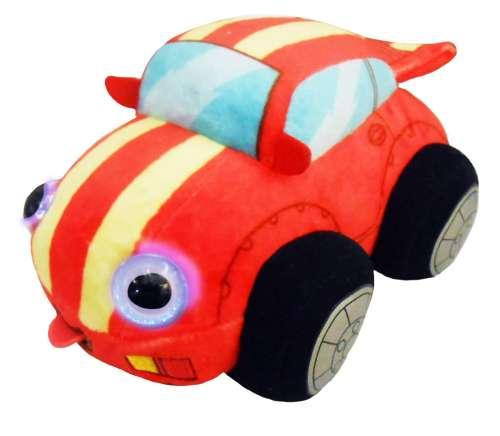 Мягкая игрушка Дразнюка Биби Гоночная Машинка 1 TOY  15 см