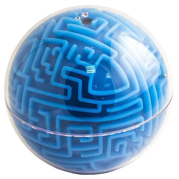 Головоломка лабиринт Сфера синяя