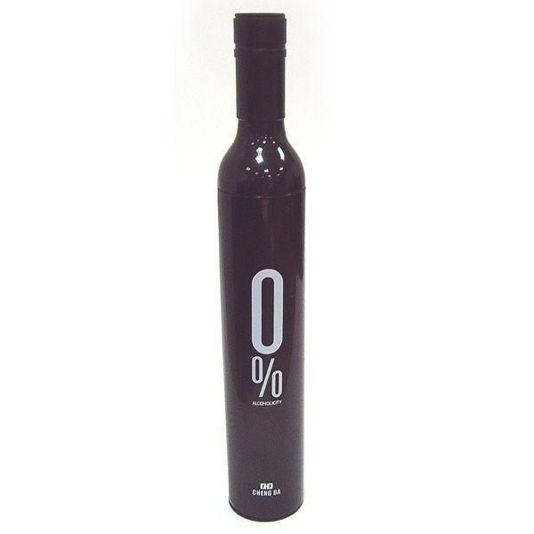 Зонт в бутылке черный 0