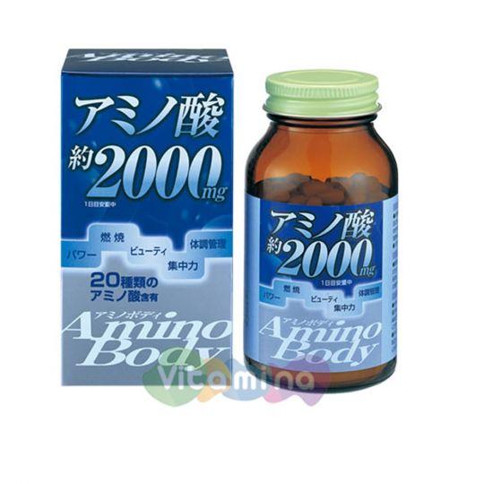 Orihiro Аминокислоты Amino Body, 250 табл.