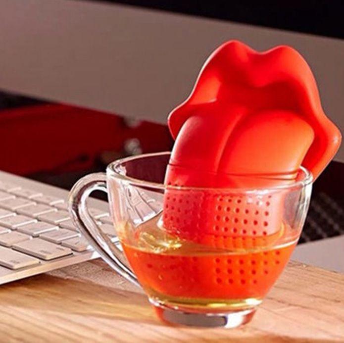 Ситечко для чая Губы