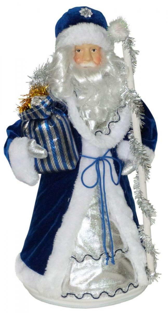 Дед Мороз в синем кафтане 1200 грамм