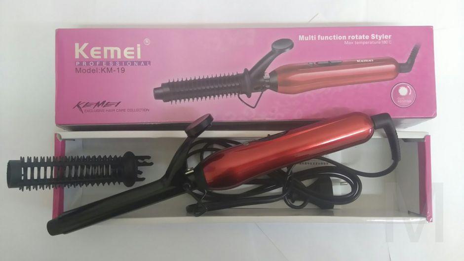 Щипцы для завивки волос модель KM-19