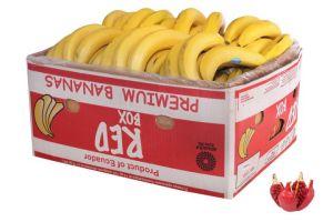 Коробка бананов 18кг