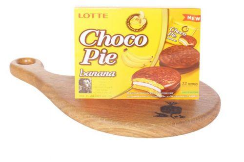 Печенье ChocoPie Лотте BANANA 12шт.