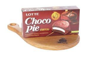Печенье ChocoPie Лотте какао 6шт.