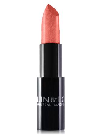 LIN&LO Губная помада сатиновая LLBS04 жемчужный розовый