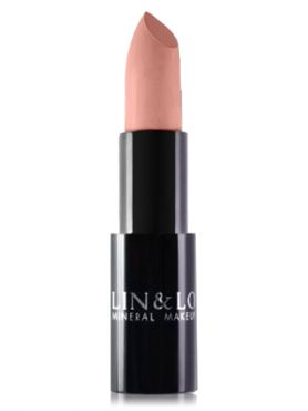 LIN&LO Губная помада сатиновая LLBS03 розовый беж