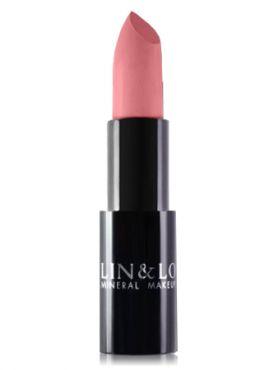 LIN&LO Губная помада сатиновая LLBS06 розовый лепесток