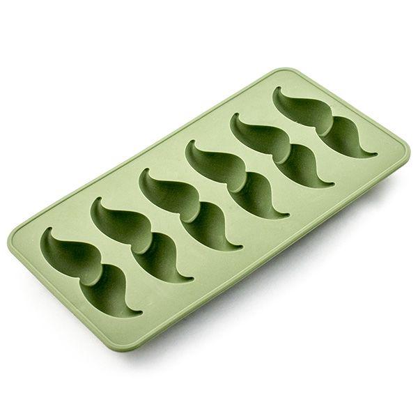 Формочки для льда Усы зеленые