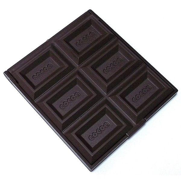 Зеркало шоколад тёмный 8 - 8.5 см