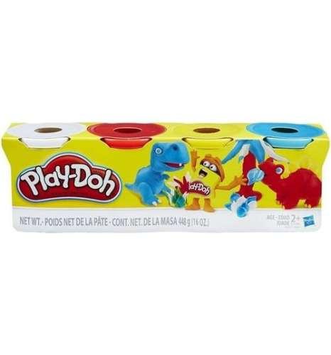 Игровой набор пластилина Play-Doh, 4 баночки