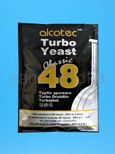 Турбо дрожжи Аlcotec 48
