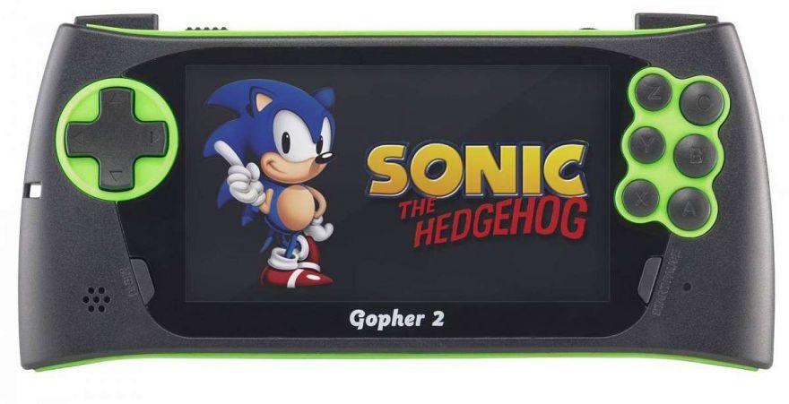 Игровая приставка SEGA Genesis Gopher 2 LCD 4.3 Green + 700 игр