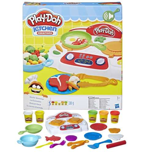 Набор для творчества Play-doh  Кухонная плита Hasbro B9014