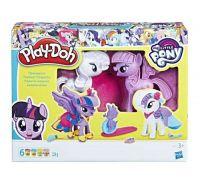 Купить Набор для творчества Play-doh  Твайлайт и Рарити недорого