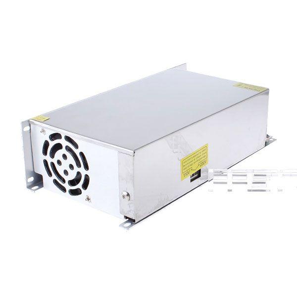 Блок питания для 3D принтера, метал. корпус, 110-240В 12В, 40А, 480Вт
