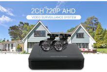 Система видеонаблюдения 2 внешние камеры