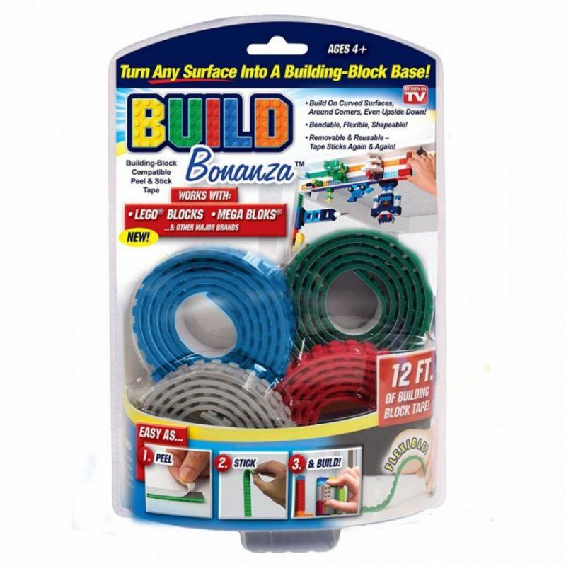 Гибкая LEGO-лента BUILD BONANZA