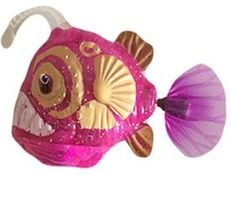 Роборыбка удильщик розовая