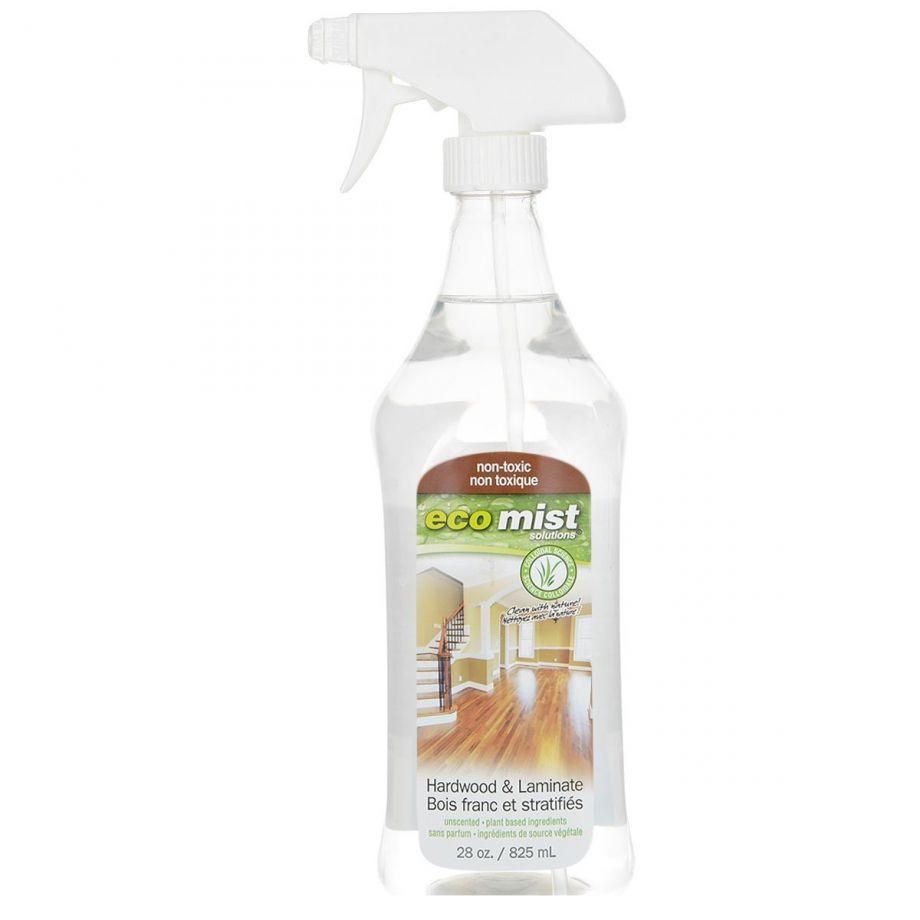 Eco Mist Средство для очистки поверхностей из древесины и ламината Hardwood&Laminate, 825 мл