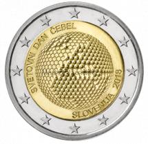 Словения 2 евро 2018 Всемирный день пчел
