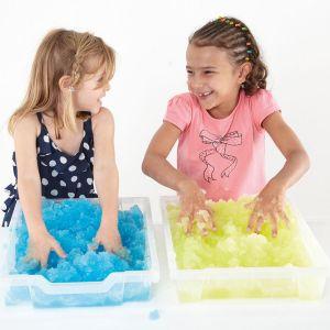 Детский гель и  снег для игр