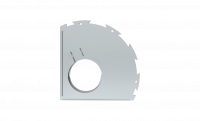 Сменное крепление для кожуха УШМ AVA SHTR125D(DR)