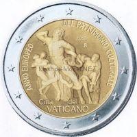 Ватикан 2 евро 2018, Культурное наследие
