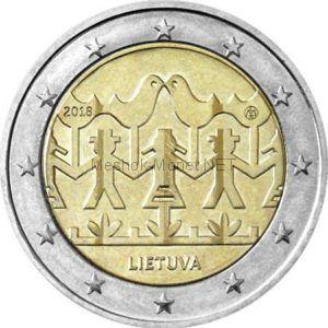 Литва, 2 евро 2018, Фестиваль песни и танца Литвы