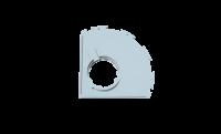 Сменное крепление для кожуха УШМ AVA SHTR125A(AR)