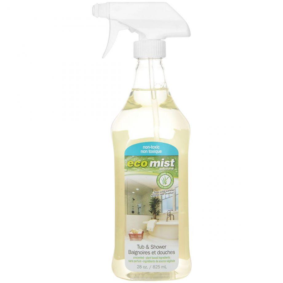 Eco Mist Средство для чистки ванн и душевых кабин Tub&Shower, 825 мл