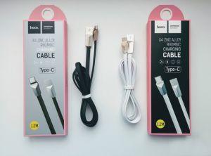 Кабель USB Hoco Type-C X4 (1,2 метра) (black)