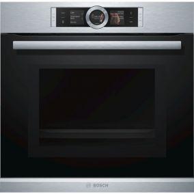 Духовой шкаф с микроволновой печью Bosch HMG656RS1
